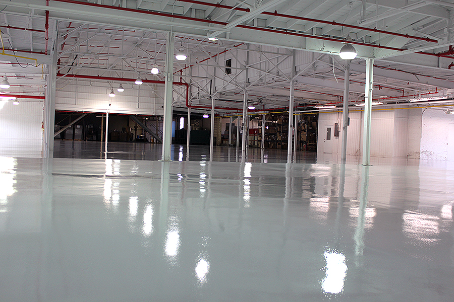 Manufacturing - Resinous Floor System