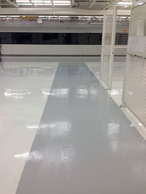 Industrial – Resinous Floor System