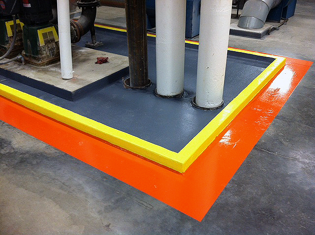 Manufacturing – Line Striping Floor System